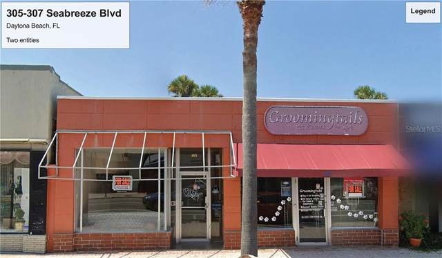 305 - 307 Seabreeze Boulevard, Daytona Beach, FL 32118 (MLS #O5927077) :: Memory Hopkins Real Estate