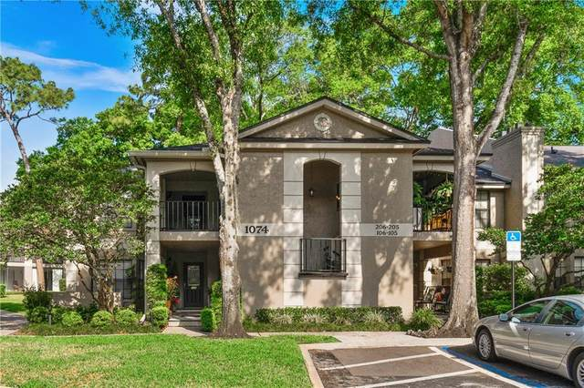 1074 Kensington Park Drive #106, Altamonte Springs, FL 32714 (MLS #O5934133) :: The Figueroa Team