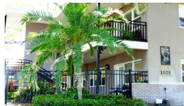 1101 Victoria Drive #8, Dunedin, FL 34698 (MLS #O5936819) :: Pristine Properties