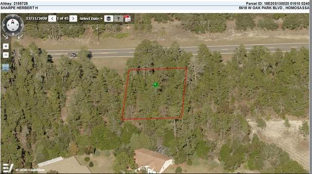 5618 W Oak Park Boulevard, Homosassa, FL 34446 (MLS #O5938161) :: Southern Associates Realty LLC