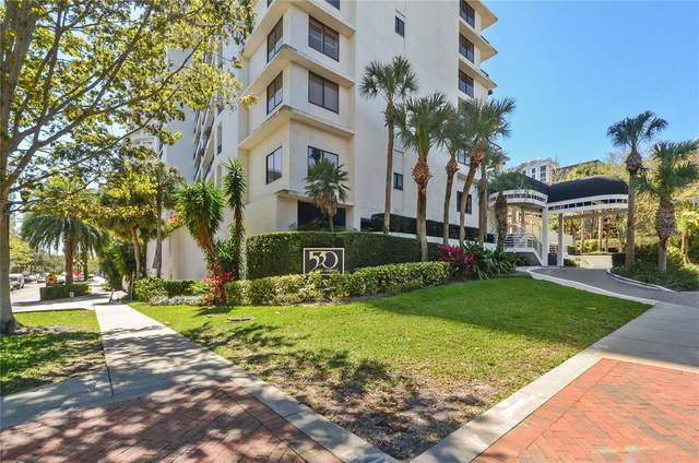 530 E Central Boulevard #1002, Orlando, FL 32801 (MLS #O5943481) :: Sarasota Property Group at NextHome Excellence