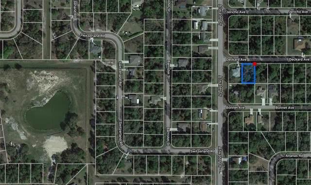 Deckard Avenue, North Port, FL 34288 (MLS #O5945159) :: The Price Group