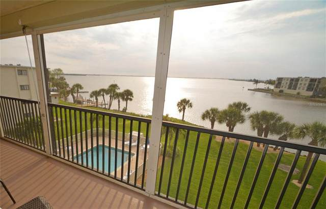3873 S Banana River Boulevard #401, Cocoa Beach, FL 32931 (MLS #O5951121) :: The Light Team
