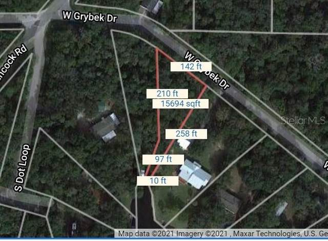 11123 W Grybek Drive, Homosassa, FL 34448 (MLS #O5955459) :: The Paxton Group