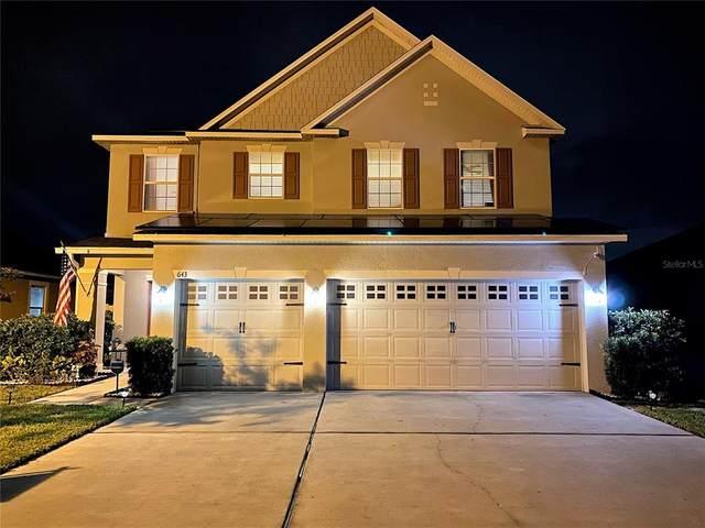 643 Washington Way, Haines City, FL 33844 (MLS #O5960091) :: CGY Realty