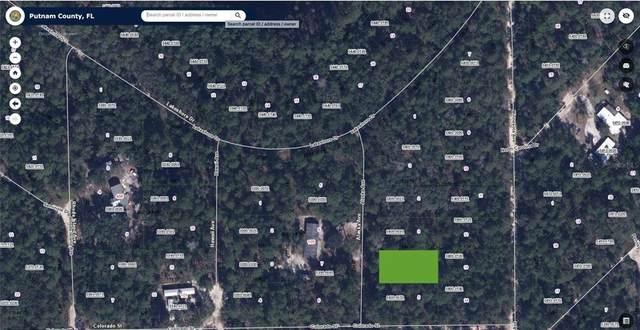 131 Lakeshore Drive, Satsuma, FL 32189 (MLS #O5970207) :: Delgado Home Team at Keller Williams