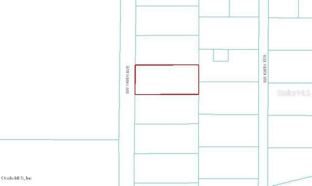 PAVED SW 140TH AVENUE, Dunnellon, FL 34432 (MLS #OM516034) :: Armel Real Estate