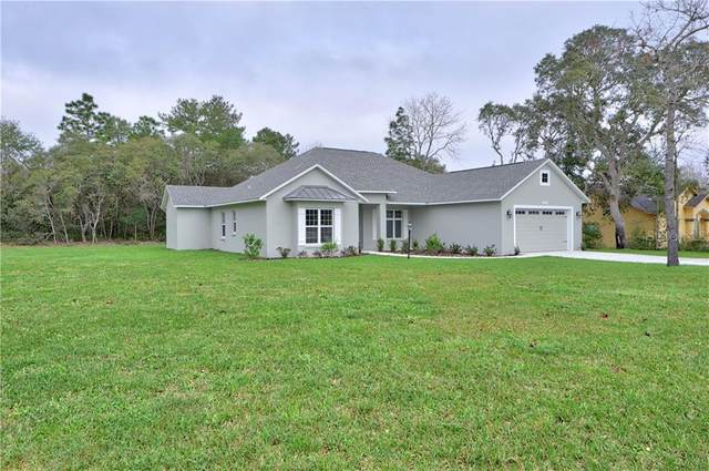 5387 SW 111TH LANE RD, Ocala, FL 34476 (MLS #OM600388) :: The Dora Campbell Team