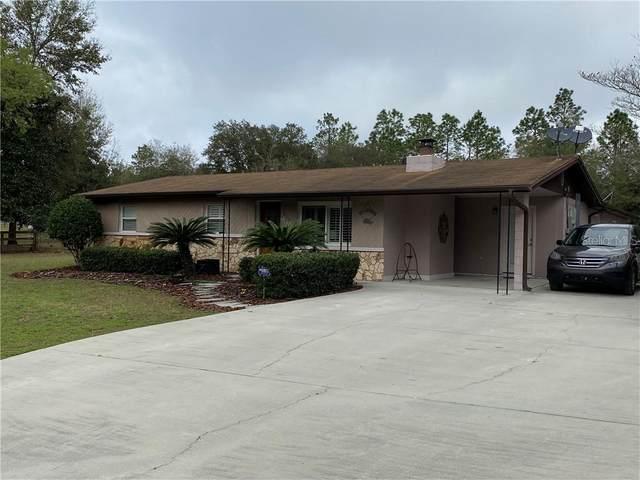 10191 NE 73RD Street, Bronson, FL 32621 (MLS #OM600411) :: Pristine Properties