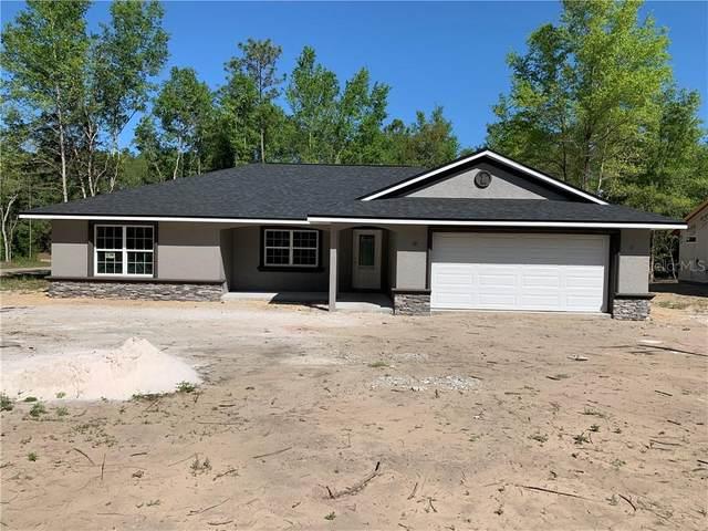 97 E Runic Lane, Citrus Springs, FL 34434 (MLS #OM602500) :: Team Bohannon Keller Williams, Tampa Properties