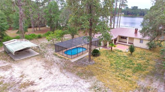 2525 NE 145TH AVENUE Road, Silver Springs, FL 34488 (MLS #OM604274) :: The Figueroa Team