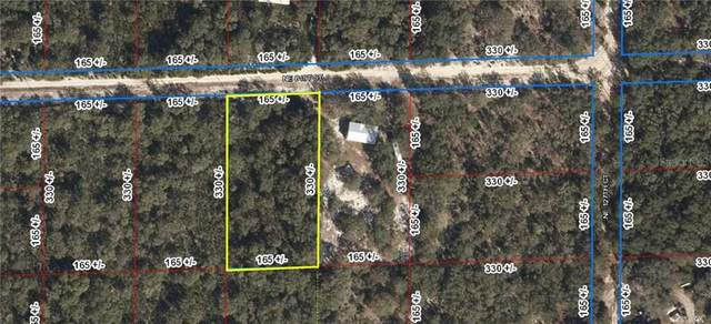 0 NE 81ST Street, Bronson, FL 32621 (MLS #OM605531) :: McConnell and Associates
