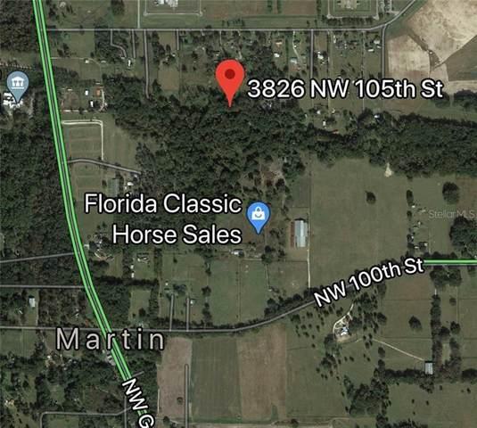 3826 NW 105TH Street, Ocala, FL 34482 (MLS #OM606760) :: Premium Properties Real Estate Services