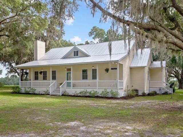 21850 NW 150TH Avenue, Micanopy, FL 32667 (MLS #OM606915) :: Pristine Properties