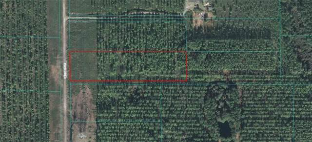 TRACT 23 NE 125 Avenue, Fort Mc Coy, FL 32134 (MLS #OM607785) :: Heckler Realty