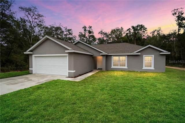 1491 W Noon Place, Citrus Springs, FL 34434 (MLS #OM608870) :: Cartwright Realty