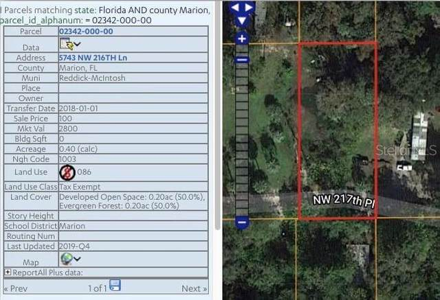 5743 NW 216TH Lane, Micanopy, FL 32667 (MLS #OM611865) :: The Lersch Group