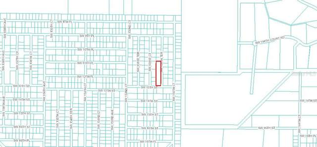 0 SW 150TH TERRACE, Ocala, FL 34471 (MLS #OM616441) :: The Lersch Group