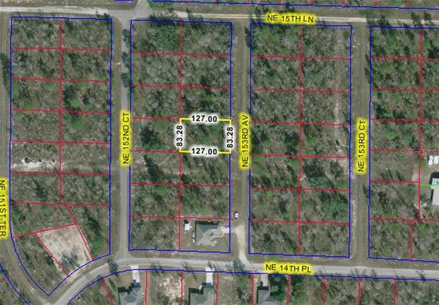 1510 NE 153RD Avenue, Williston, FL 32696 (MLS #OM616584) :: Griffin Group