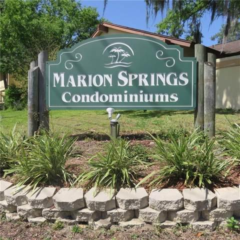 3541 E Fort King Street #146, Ocala, FL 34470 (MLS #OM617035) :: Gate Arty & the Group - Keller Williams Realty Smart
