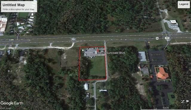 585 S Suncoast Boulevard, Homosassa, FL 34448 (MLS #OM618251) :: Better Homes & Gardens Real Estate Thomas Group