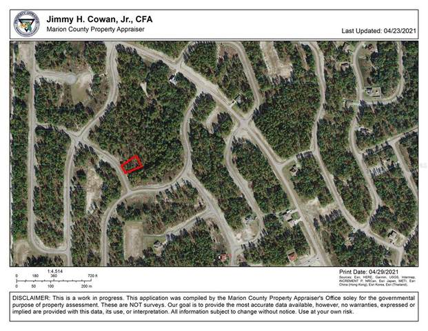 0 SW 129TH PL, Ocala, FL 34473 (MLS #OM619356) :: Realty Executives in The Villages