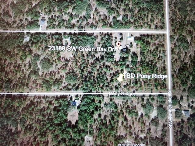 TBD Pony Ridge, Dunnellon, FL 34431 (MLS #OM619894) :: Team Borham at Keller Williams Realty