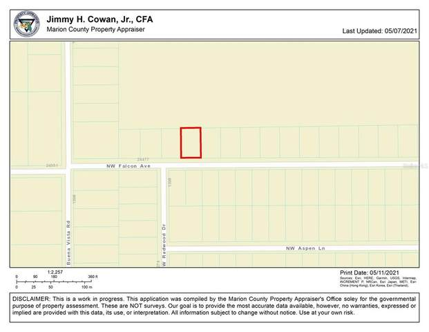 0 NW Falcon Avenue, Dunnellon, FL 34432 (MLS #OM619984) :: The Robertson Real Estate Group