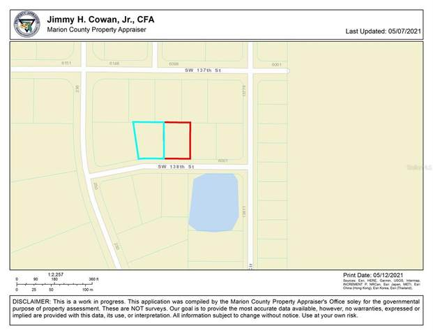 0 SW 138TH Street, Ocala, FL 34473 (MLS #OM620159) :: The Lersch Group