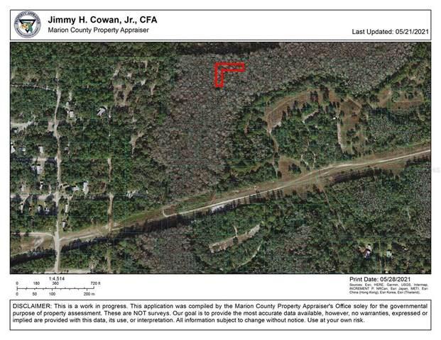 NE 154TH Lane, Fort Mc Coy, FL 32134 (MLS #OM620925) :: Gate Arty & the Group - Keller Williams Realty Smart