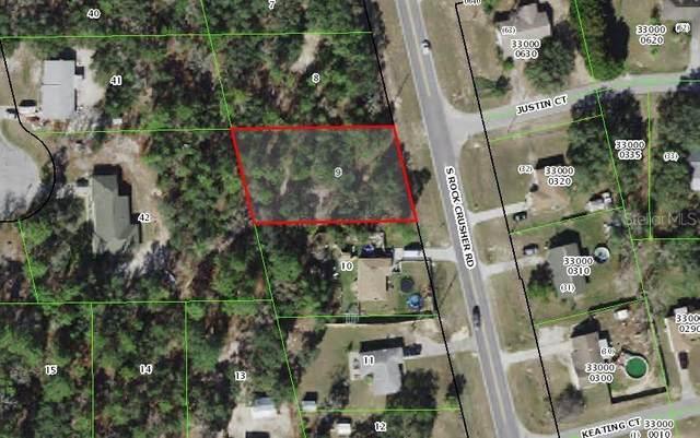 1680 S Rock Crusher Road, Homosassa, FL 34448 (MLS #OM621420) :: Premium Properties Real Estate Services