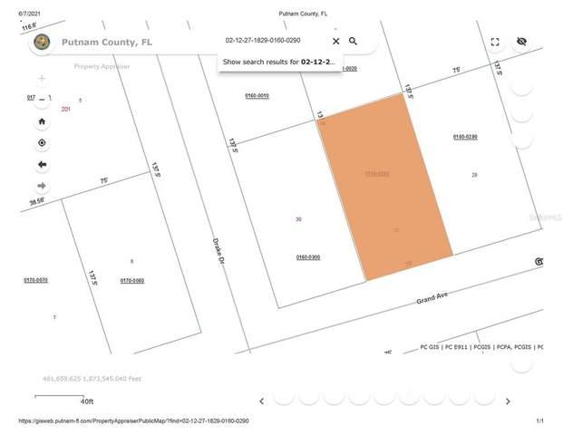 126 Grand Ave, Crescent City, FL 32112 (MLS #OM621581) :: Pristine Properties