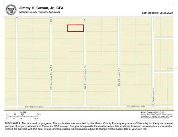 0 SW Sylvan Heights Road, Dunnellon, FL 34431 (MLS #OM621858) :: Frankenstein Home Team