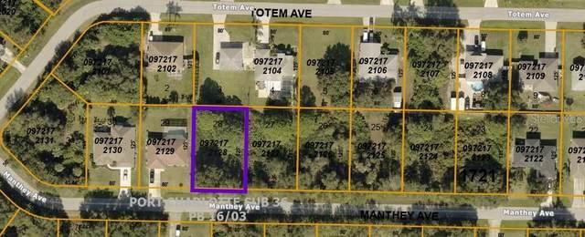 TBD Manthey Avenue, North Port, FL 34291 (MLS #OM622135) :: Coldwell Banker Vanguard Realty