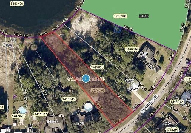 lot 41 Orange Circle, Lady Lake, FL 32159 (MLS #OM622296) :: Your Florida House Team