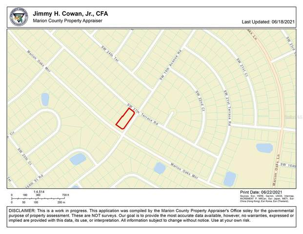 16306 SW 19TH AVE RD - DOUBLE LOT, Ocala, FL 34481 (MLS #OM622386) :: RE/MAX Marketing Specialists