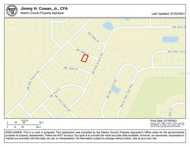 0 SW 158TH Place, Ocala, FL 34473 (MLS #OM623804) :: Cartwright Realty