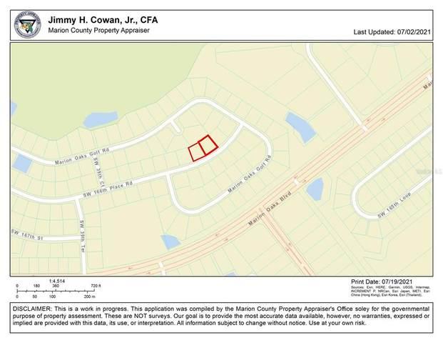 0 SW 166TH PLACE Road, Ocala, FL 34473 (MLS #OM623936) :: Cartwright Realty