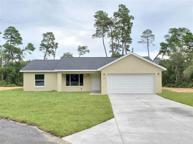 182 Fisher Way, Ocklawaha, FL 32179 (MLS #OM624439) :: Global Properties Realty & Investments
