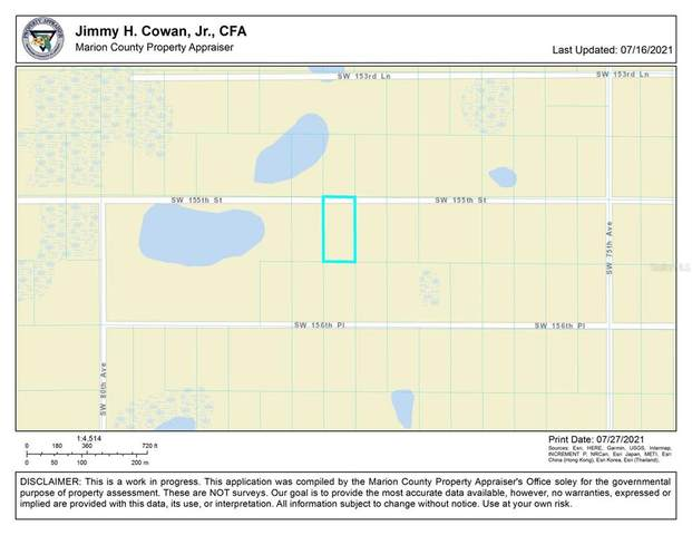 0 SW 155TH Street, Dunnellon, FL 34432 (MLS #OM624461) :: Rabell Realty Group