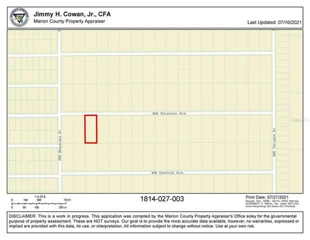 0 SW Geranium Avenue, Dunnellon, FL 34431 (MLS #OM624728) :: Century 21 Professional Group