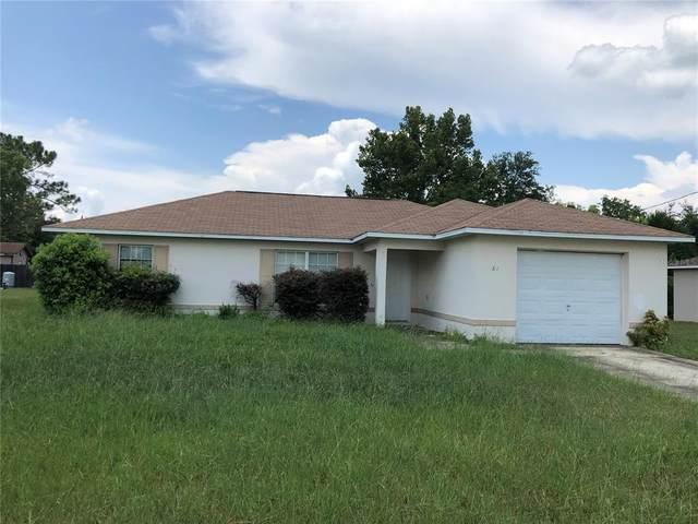 61 Pecan Drive Loop, Ocala, FL 34472 (MLS #OM624880) :: RE/MAX Elite Realty