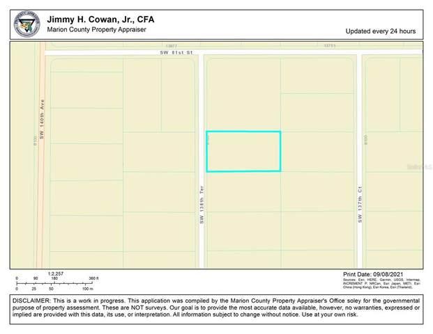 0 SW 138TH Terrace, Dunnellon, FL 34432 (MLS #OM626784) :: Delgado Home Team at Keller Williams