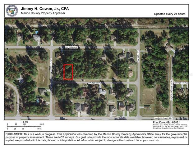 00 SW 128TH Place, Ocala, FL 34473 (MLS #OM626979) :: Baird Realty Group