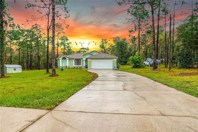 23851 NW Water Oak Avenue, Dunnellon, FL 34431 (MLS #OM627558) :: The Hustle and Heart Group