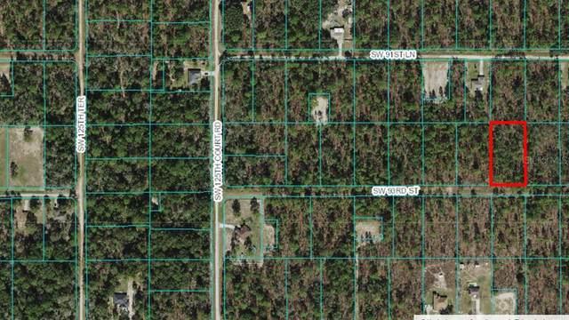 SW 93RD Street, Ocala, FL 34480 (MLS #OM628105) :: Bustamante Real Estate