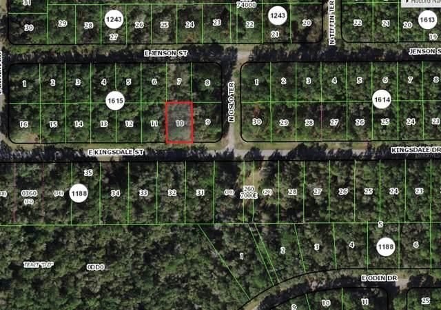925 E Kingsdale Street, Citrus Springs, FL 34434 (MLS #OM628209) :: Delgado Home Team at Keller Williams