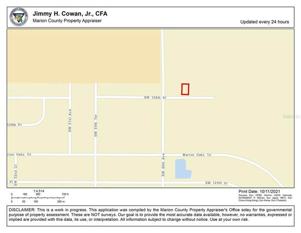 0 SW 128TH Street, Ocala, FL 34473 (MLS #OM628558) :: The Nathan Bangs Group