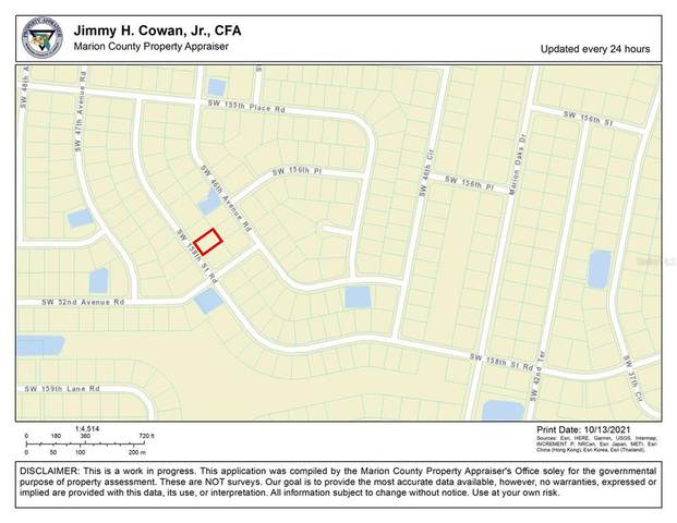 0 SW 158TH ST RD, Ocala, FL 34473 (MLS #OM628732) :: Global Properties Realty & Investments