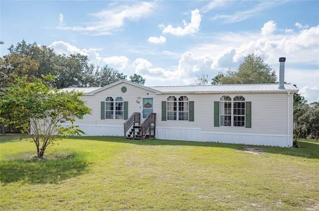 70 SE 144TH Avenue, Williston, FL 32696 (MLS #OM628815) :: Carmena and Associates Realty Group